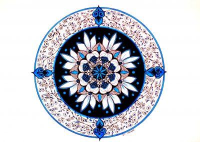 Fleur cosmique (vendu)