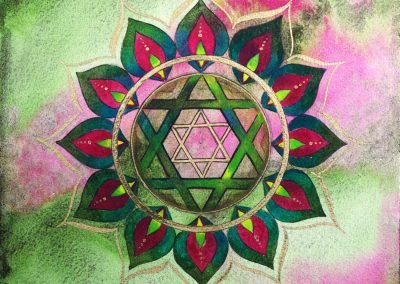"""Chakra du coeur - Anahata - """"Equilibre et éclosion"""""""
