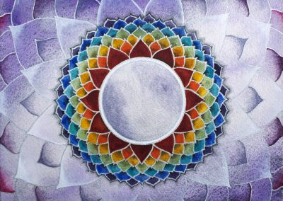 "Chakra coronal - Saharara - ""Silence Absolu"""